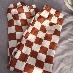Checkered UO sweats